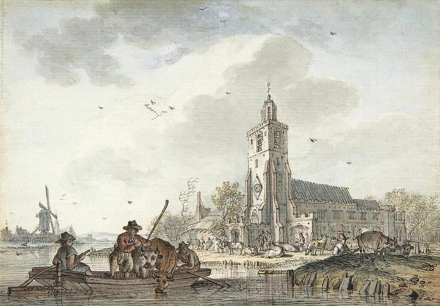 April. by Hendrik Meijer