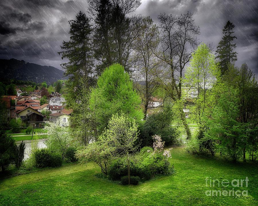 April Rains by Edmund Nagele