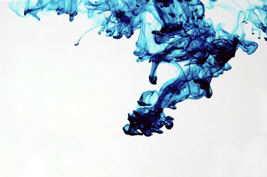 Aqua Art  1 Of  5 Photograph by Bpalmer