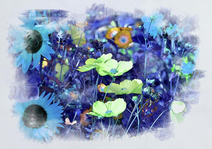 Aqua Blue by Alex Mir