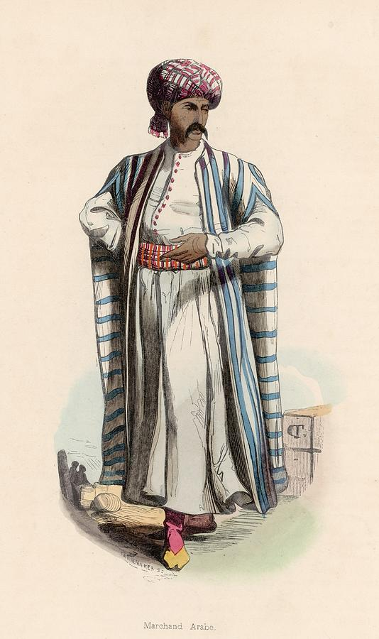 Arab Merchant Photograph by Hulton Archive