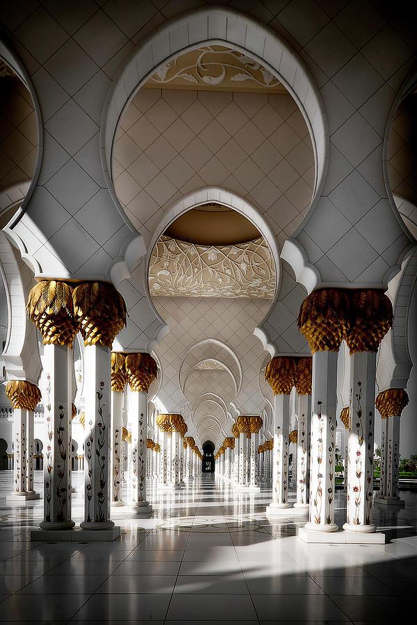 Arabesque Arch Photograph by Gary Mcgovern