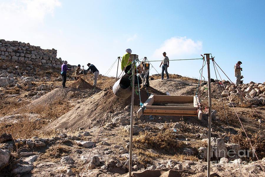 Arabic Ruins At Tall Hasban Photograph by Mae Wertz