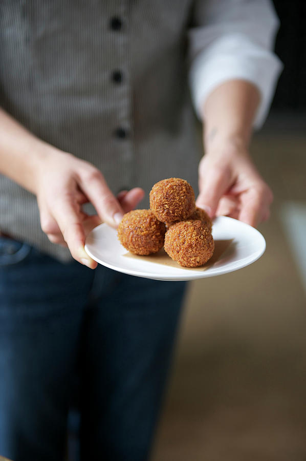 Arancini Photograph by Hilary Brodey