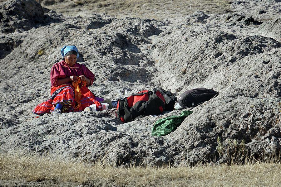 Arareko Reservation Woman by Jeff Brunton