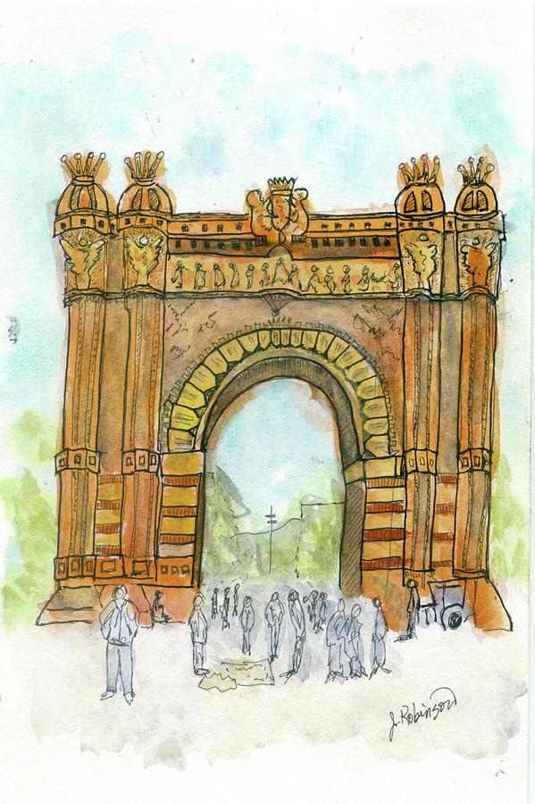 Arc de Triompf, Barcelona by Judy Robinson