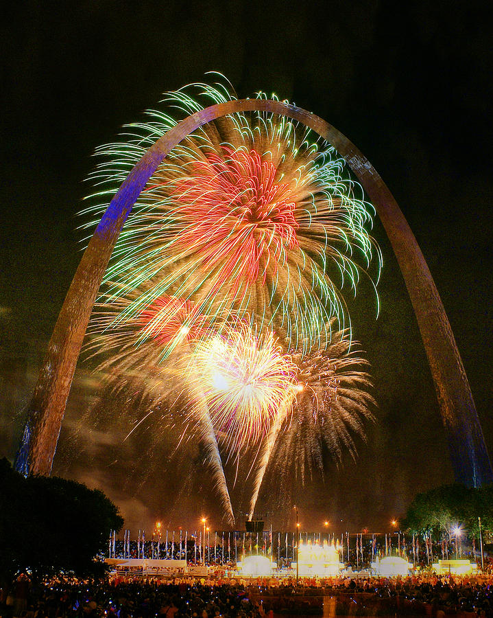 Arch Fireworks 5 by Marty Koch