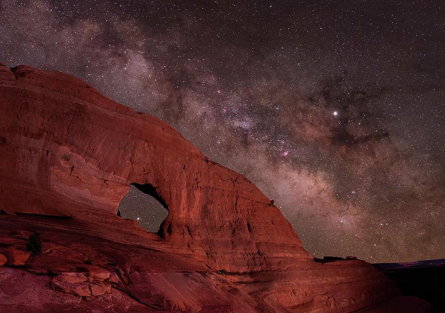 Arch near Moab, Utah by Hal Mitzenmacher