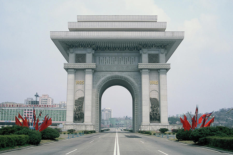 Arch Of Triumph Photograph by Till Mosler