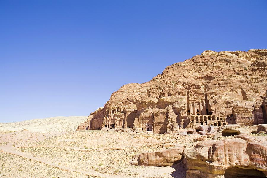 Archaeological Remains Of Petra Photograph by Gallo Images