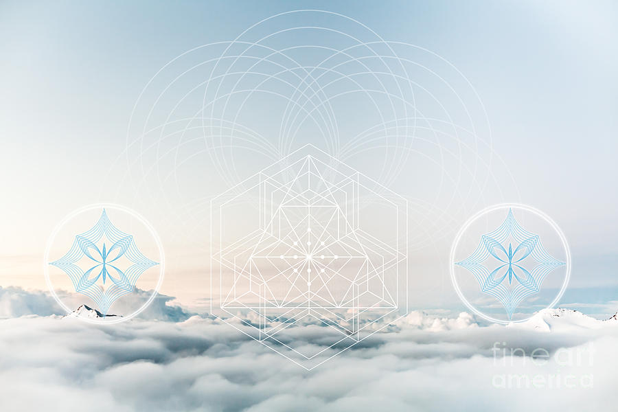 Archangelic Realm Sacred Geometry by Nathalie DAOUT