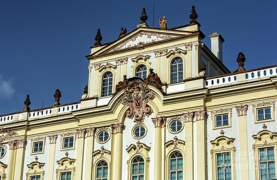 Archbishop Palace Prague by John Rizzuto