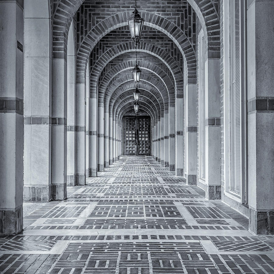 Arched Walkway Photograph