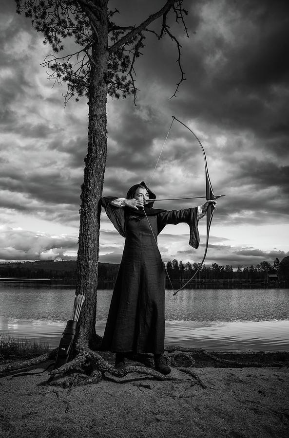 Archer Girl by George Grigoriadis