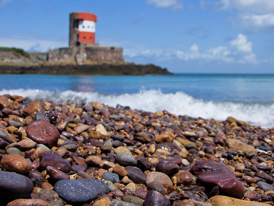 Archirondel Tower, Jersey Photograph by Vfka