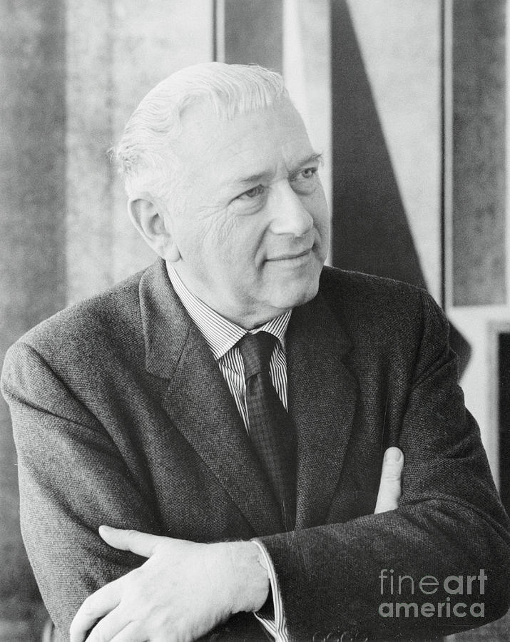 Architect Marcel Breuer Posing Photograph by Bettmann