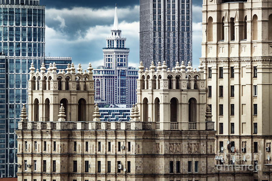 Architectural Diversity Of Historic Photograph by Sergey Alimov
