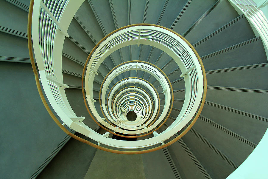 Architectural Gem - Spiral Stair by Richard Krebs