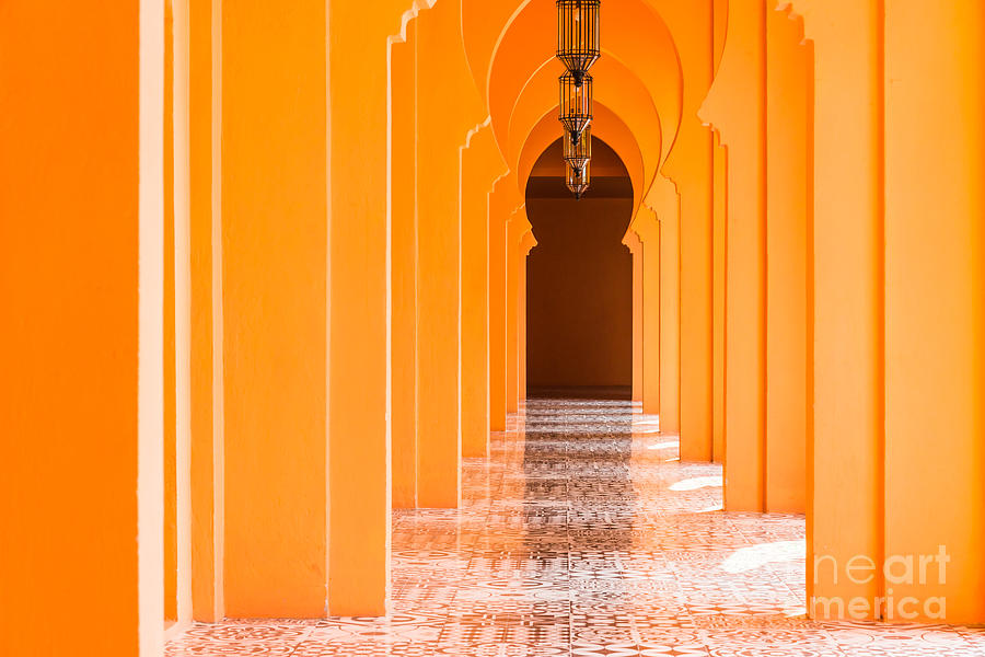 Door Photograph - Architecture Morocco Style - Vintage by Food Travel Stockforlife