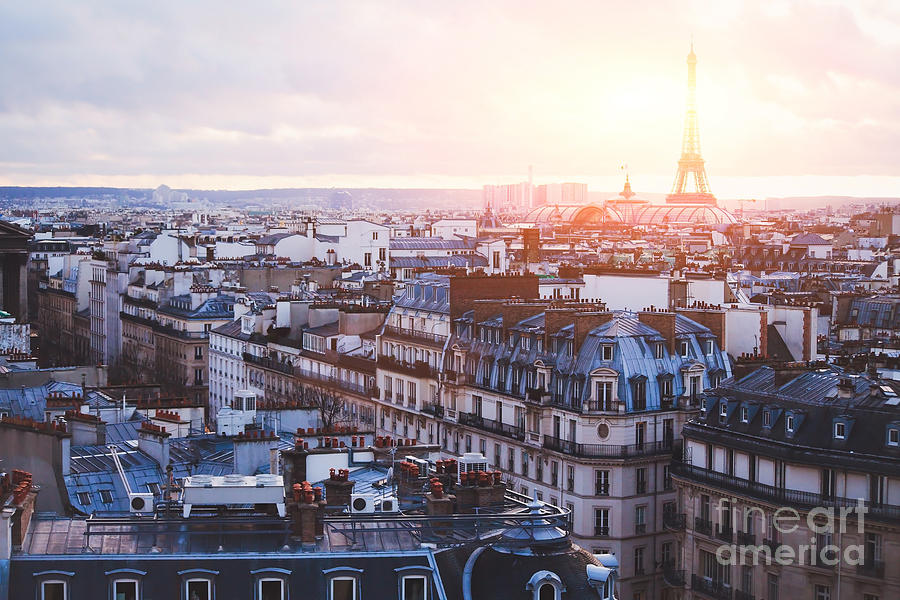 Capital Photograph - Architecture Of Paris, France by Song about summer