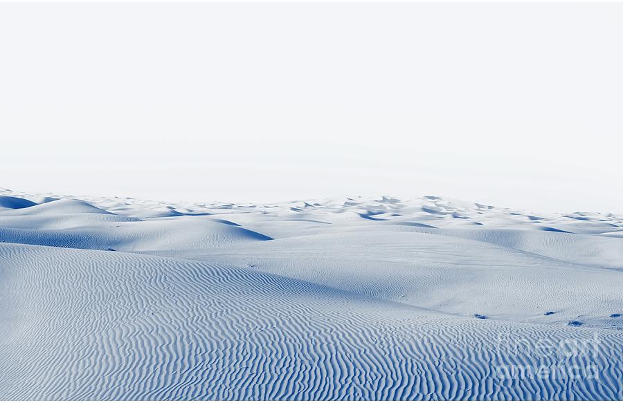 Mountains Photograph - Arctic Desert. Winter Landscape With by Kamenetskiy Konstantin