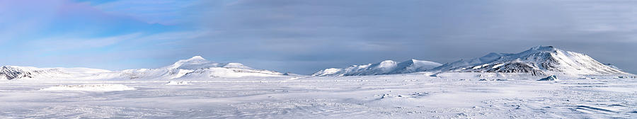 Arctic Photograph - Arctic Spring In Spitsbergen by Kai Mueller