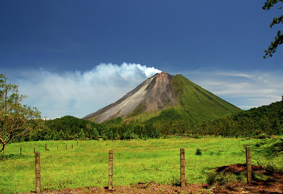 Arenal Volcano - Costa Rica Photograph by Titoslack