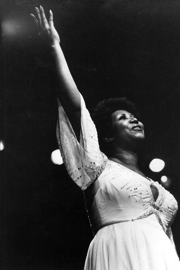 Aretha Franklin Photograph by Keystone
