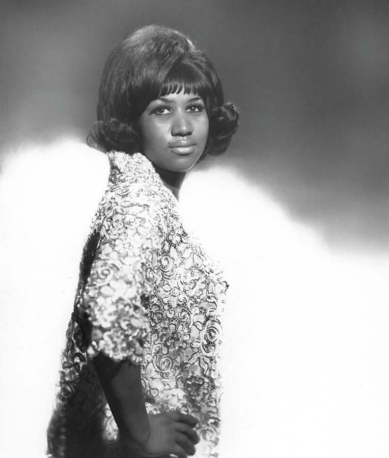 Aretha Franklin Portrait Photograph by Michael Ochs Archives