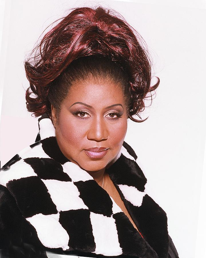 Aretha Franklin Portrait Session Photograph by Harry Langdon