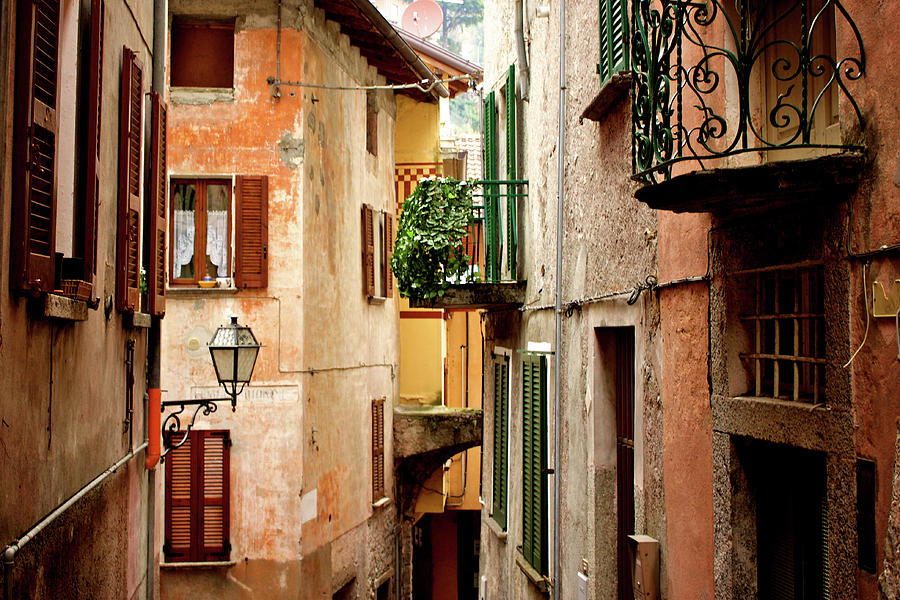 Argegno Crop Photograph by Andrea Costa Photography