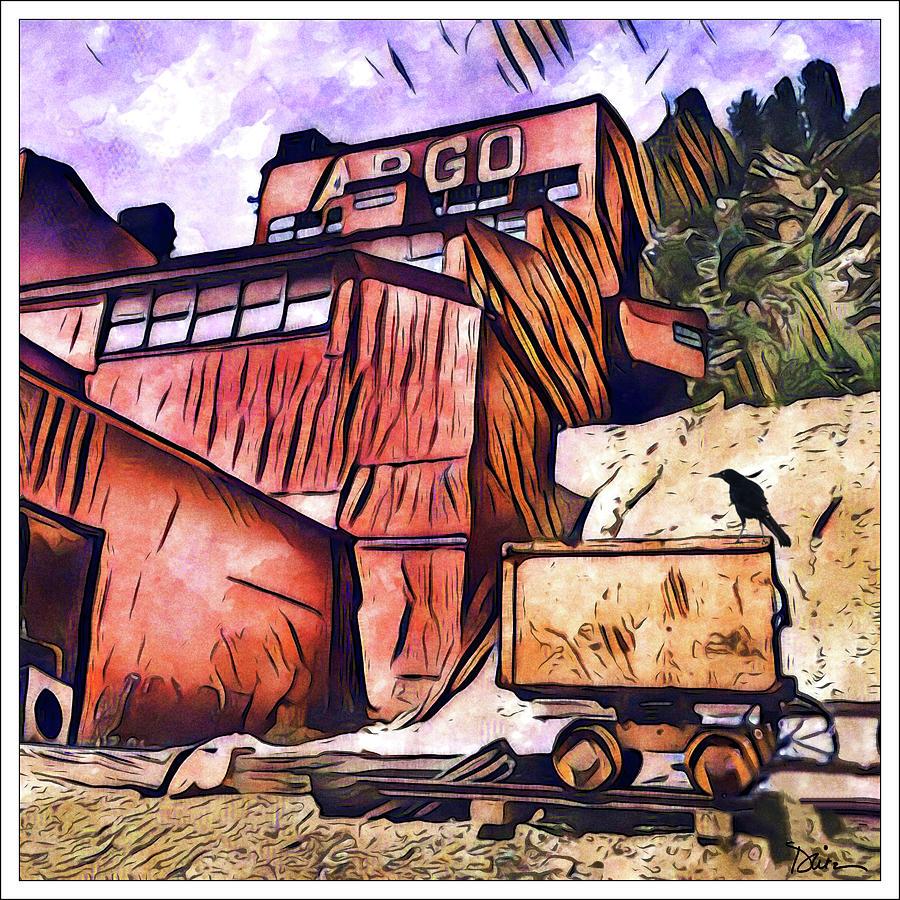 Argo Mine in Idaho Springs Colorado by Peggy Dietz