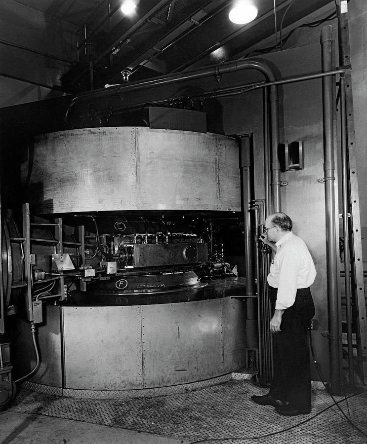 Argonne Labs Cyclotron by Underwood Archives