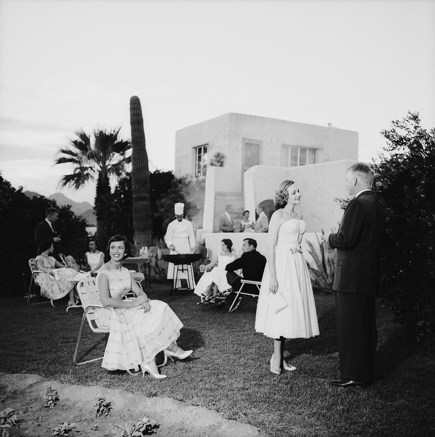 Arizona Barbeque Photograph by Slim Aarons