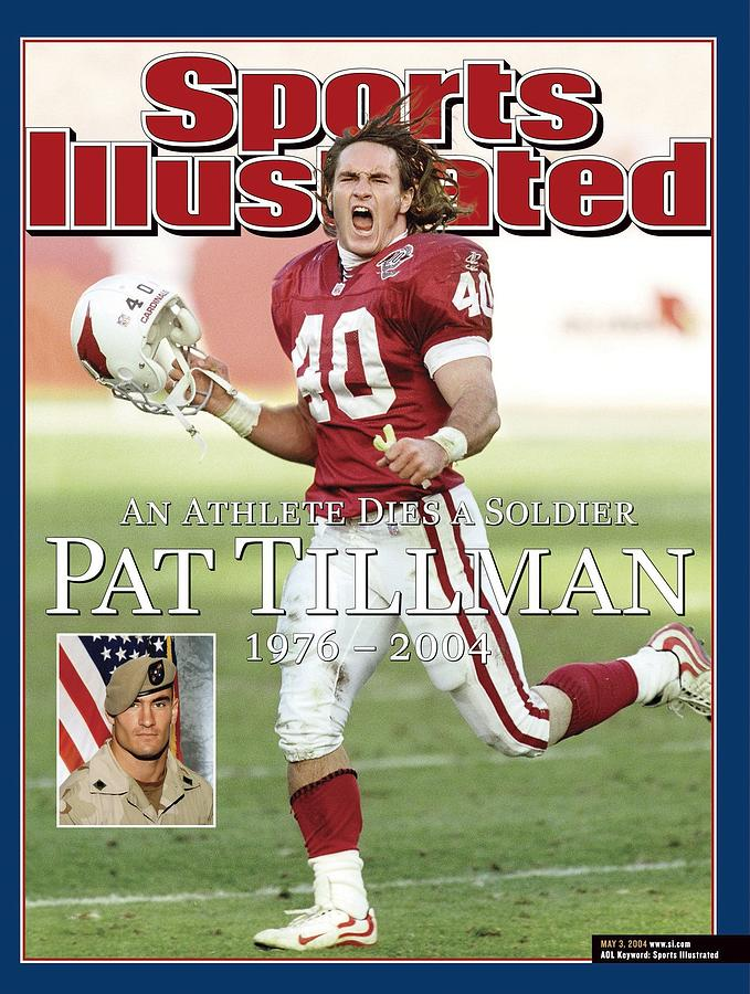 Magazine Cover Photograph - Arizona Cardinals Pat Tillman, An Athlete Dies A Soldier Sports Illustrated Cover by Sports Illustrated