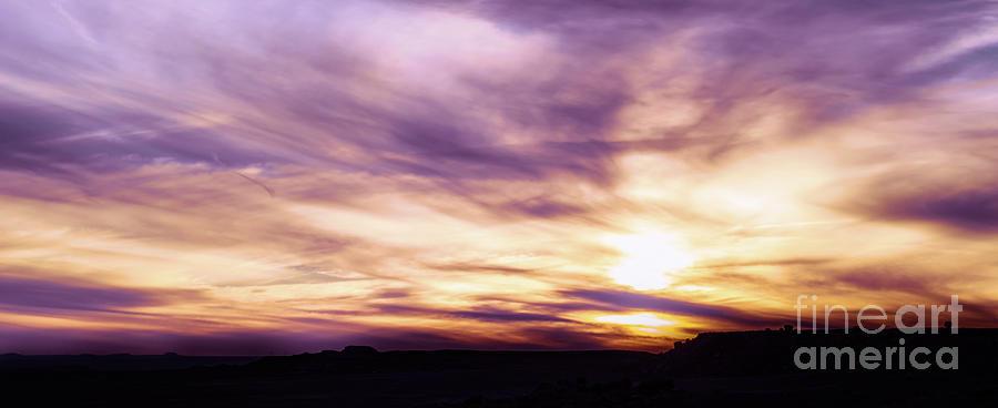 Arizona Desert Sunset #1 by Blake Webster