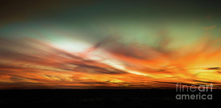 Arizona Desert Sunset #3 by Blake Webster