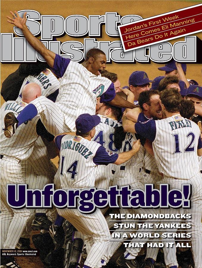 Arizona Diamondbacks, 2001 World Series Sports Illustrated Cover Photograph by Sports Illustrated