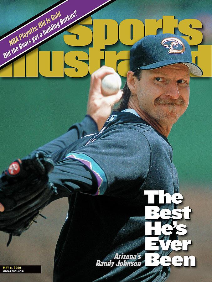 Arizona Diamondbacks Randy Johnson Sports Illustrated Cover Photograph by Sports Illustrated