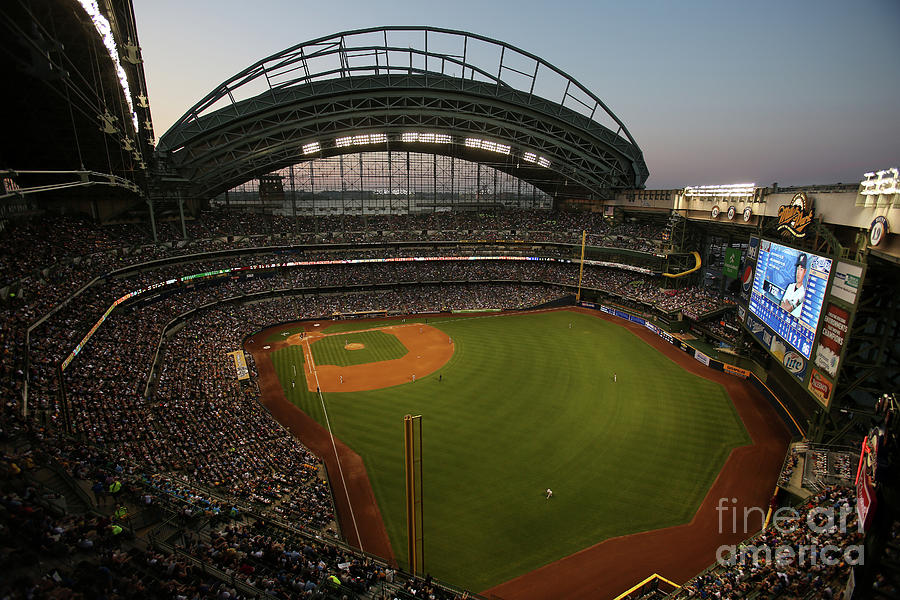 Arizona Diamondbacks Vs. Milwaukee Photograph by Mlb Photos