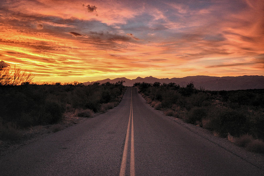Arizona Highways Sunset by Chance Kafka