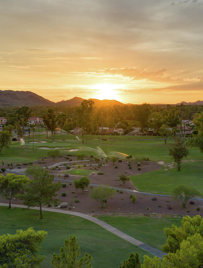 Arizona McCormick Resort Sunset by Ants Drone Photography