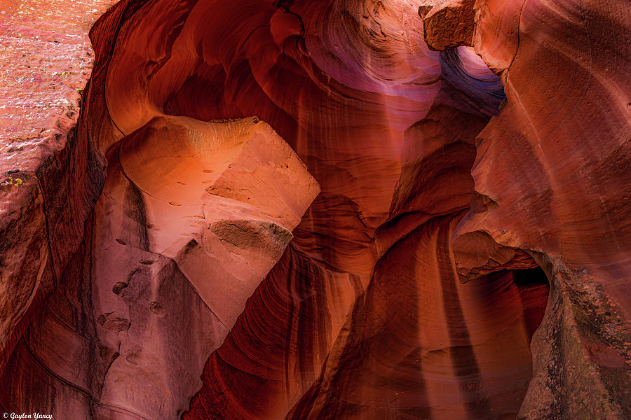 Arizona Slot Canyon by Gaylon Yancy
