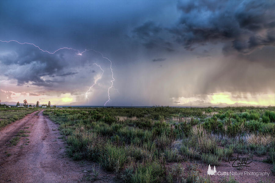 Arizona Storm by David Cutts