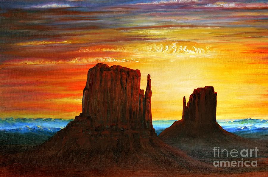 Arizona Sunset by Greg Moores