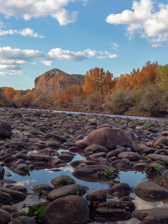Arkansas River in Fall by Bryan Kilzer