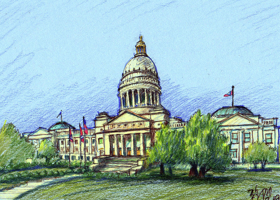 Arkansas State Capitol Building by Yang Luo-Branch