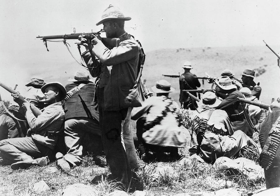 Armed Afrikaners Photograph by Hulton Archive
