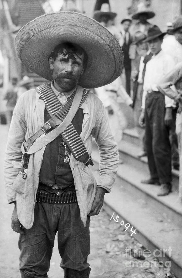 Armed Mexican Rebel Photograph by Bettmann