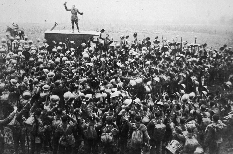 Armistice Photograph by Archive Photos